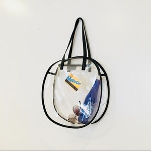 Handbags - CIRCULAR CLEAR PVC TOTE SHOPPER